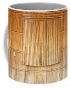 Bamboo Wall And Shutters Coffee Mug