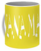 Banana Manna - Yellow - Color - Letter Art Coffee Mug