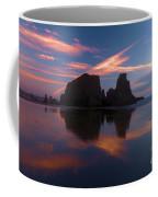 Bandon Beach Skies Coffee Mug
