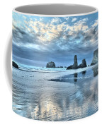 Bandon Sea Stack Reflections Coffee Mug
