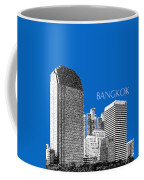 Bangkok Thailand Skyline 2 - Blue Coffee Mug
