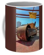 Banksys Steam Rollered Yogi Coffee Mug