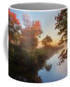 Bantam River Sunrise Coffee Mug by Bill Wakeley
