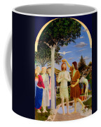 Baptism Of Christ - Oil On Canvas Coffee Mug