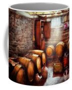 Bar - Wine - The Wine Cellar  Coffee Mug by Mike Savad