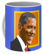 Barack Coffee Mug by Douglas Simonson