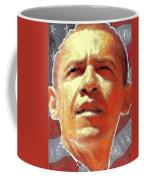 Barack Obama American President - Red White Blue Coffee Mug