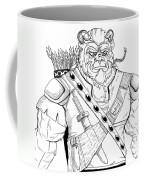 Baragh The Warrior Coffee Mug