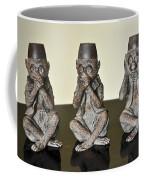 Barbary Macaques Monkeys Coffee Mug