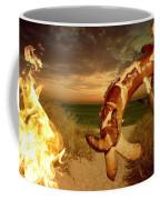 Barbecue On The Beach Coffee Mug