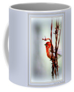 Barbed Wire And Finch Coffee Mug