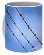 Barbed Wire Close Coffee Mug