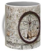 Barbed Wire Cross Coffee Mug
