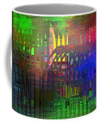Barbed Wire Cubed 3 Coffee Mug