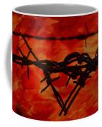 Barbed Wire Love Series  Rage Coffee Mug