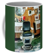 Barber - Barber Chair Front View Coffee Mug