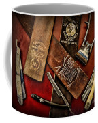 Barber - Barber Tools Of The Trade Coffee Mug by Paul Ward