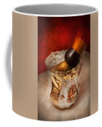 Barber - Shaving - The Beauty Of Barbering Coffee Mug by Mike Savad
