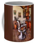 Barber - The Barber Chair Coffee Mug
