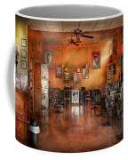Barber - Union Nj - The Modern Salon  Coffee Mug by Mike Savad