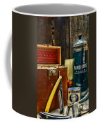 Barber - Vintage Barber Tools  Coffee Mug