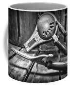 Barber - Vintage Hair Care In Black And White Coffee Mug