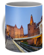 Barbican In The Old Town Of Warsaw Coffee Mug