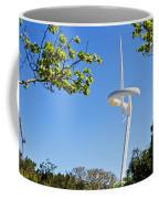 Barcelona Tv Tower/sun Dial Coffee Mug