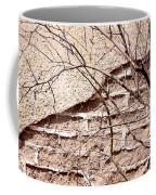 Bare Tree Adobe Wall Coffee Mug by Joe Kozlowski