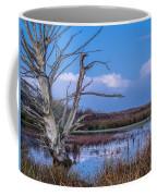 Bare Tree In Marsh Coffee Mug