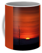 Bare Tree Sunrise Coffee Mug