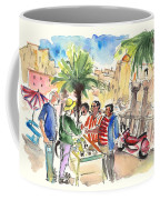 Bargaining Tourists In Siracusa Coffee Mug