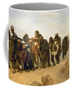 Barge Haulers On The Volga Coffee Mug