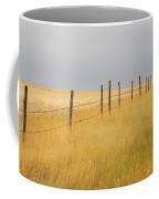 Barley Field And Fenceline, Southern Coffee Mug