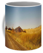 Barn And Corn Field Coffee Mug