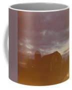 Barn And Fall Sky Coffee Mug