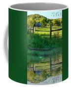 Barn And Fence Coffee Mug