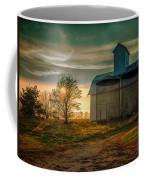 Barn At Sunset Coffee Mug