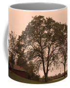 Barn At Twlight Coffee Mug