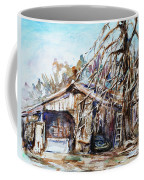 Barn By The Tree Coffee Mug