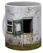 Barn Door In Need Of Repair Coffee Mug