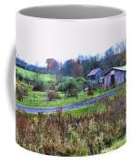 Barn - End Of The Road Coffee Mug