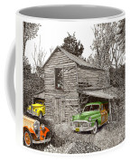 Barn Finds Classic Cars Coffee Mug by Jack Pumphrey