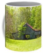 Barn From The Forgotten Farm Coffee Mug