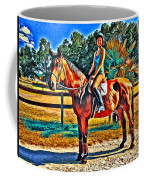 Barn Horse Two Coffee Mug