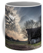 Barn In A Field With A Horse Coffee Mug