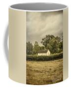 Barn In Corn Field Coffee Mug