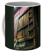 Barn In May Moonlight Coffee Mug