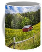 Barn In The Meadow Coffee Mug