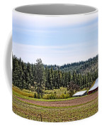 Barn In The Trees Coffee Mug